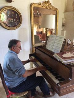 François Waroux peut désormais se consacrer librement à son loisir préféré (photo de J.P. Ducournau)