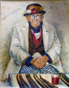 Aale-Aale, Gemälde von unbekanntem Maler