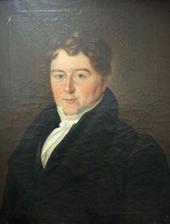 Jakob Friedrich Kirchhoff Porträt in Öl