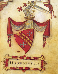 Grb obitelji Hrvatinić*