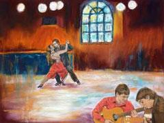 Tangomusik-Gitarre-Argentinien