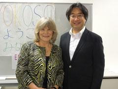 鈴木信市 米国NLP協会 クリスティーナ・ホール博士