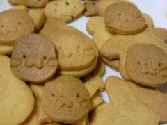 むくちゃんクッキー