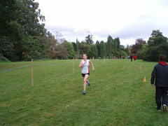 Claire Fox on way to winning u/16s