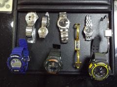 業者様よりお預かりした電池交換の時計。