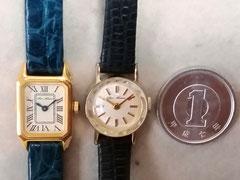 お客様から依頼された小型腕時計の電池交換