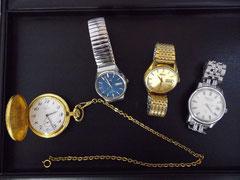 お買取りさせて頂いた紳士用時計。