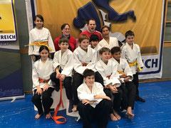 Nachwuchscupkader des Judo-Club Stockerau