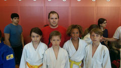 Judo Club Stockerau Cennet Caner, Markus Betz, Emil Schillinger, Yonathan Pieber, Jonas Richter