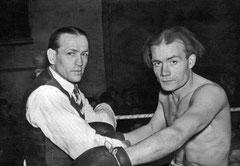 Der Ringfuchs Gustav Scholten vom WBC war Sieger mancher Auseinandersetzung im Boxring. Ihm gehörte die Gunst der Boxsportanhänger.