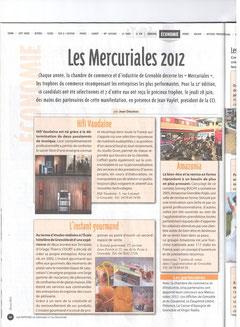 Les Affiches 1er juillet 2012