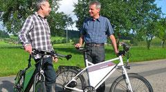 SPEEDPED - das e-Bike aus dem Emmental.  (L) Philippe Kohlbrenner (R) Oli Busato