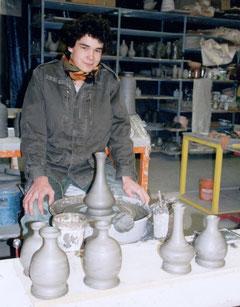 Réalisation du projet professionnel Céramique