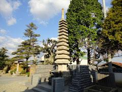 智積寺 供養塔