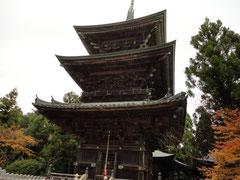 千光寺 三重の塔