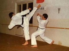 'Kumite' practice