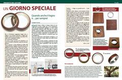 LEGNOLAB, il mensile italiano per gli appassionati di Legno, nel numero di Ottobre (n.ro 23) parla di WOODPASSION