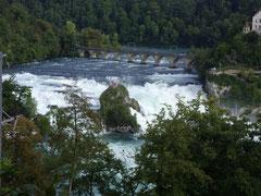 Der Rheinfall von oben