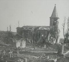Bezonvaux - zerstörte Kirche