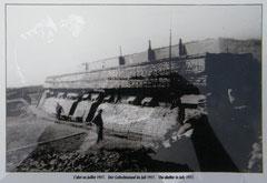 MF2 im Juli 1917 - meist war er durch Sandsäcke zusätzlich gesichert