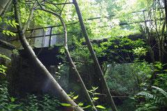 Zugangsbrücke vom Wallgraben aus fotografiert