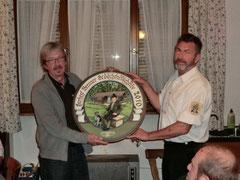Peter Lindner der Gewinner der Herbert Brenner Gedächtnisscheibe