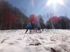 20 Grad und Schnee