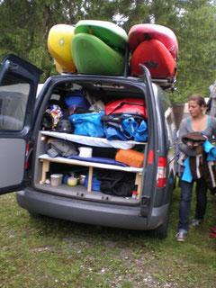 Rammi am Campingplatz