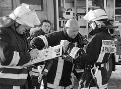 Brandbekämpfer von vier Wehren waren am Einsatz beteiligt. Darunter auch Kameraden aus Arneburg.