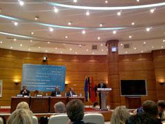 Die Kronberger Gespräche der Bertelsmann Stiftung in Rabat, für die Michael Bauer das Strategiepapier verfasst hat.