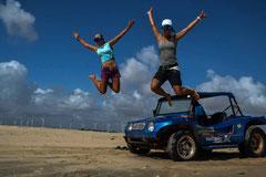 Kite Brasilien, Kite Coaching, Camps, Downwind Trips Taiba Brasilien wavebandits