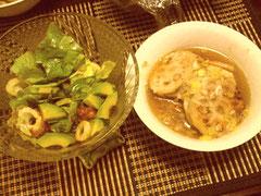 おとといの晩御飯。