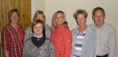 Der Vorstand:v.l.n r.: Astrid Schönherr, Sonja Schreiber-Völzer, Britta Ewert, Doris Samulewitsch, Ute Olhöft, Norbert Reich