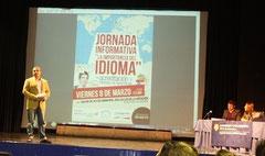 Salvador Gallego, director de ALAS, en la presentación de las Jornadas.