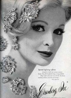 Реклама в журнале Vogue. 1963 г.