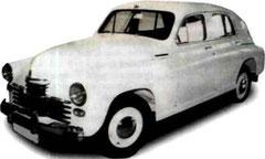 "ГАЗ-М20 ""Победа"". 1956 г."