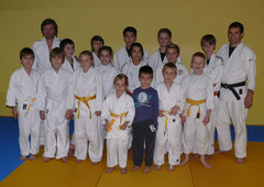 JSC Judokas mit Dirk Lehmann und Rok Košir
