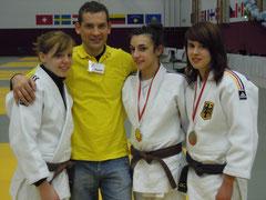 Claudia, Rok, Irina und Selina