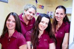 Prophylaxe-Team der Zahnarzt-Praxis Sauer & Rudzewitz in Sigmaringen