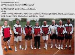 Herren 60 Verbandsliga 2014