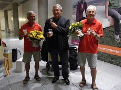 """Die """"Helden von Gibraltar"""" landen wohlbehalten in Echterdingen"""