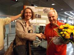 Auch Maren Gülck von der Redaktion des Esslinger Tierheim-Blättles gratuliert herzlich