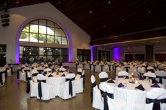 the civic center is one of the most popular wedding and reception venues in central florida this beautiful building features a grand ballroom with a 35