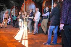 Ein Besuch der Portweinkellerei Burnester war einer der touristischen Highlights der Tagung