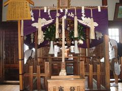 姫路城天守にある長壁神社