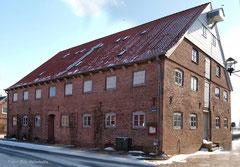 der historische Kornspeicher in Freiburg/Elbe (Foto: R. Helmholtz)
