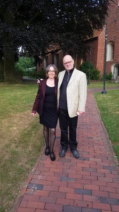 Pastor Heinz Franke mit Ehefrau Karin