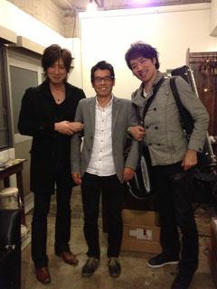 左:ハクエイキムさん 右:太田剣さん