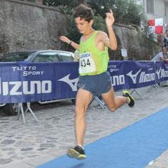 PAOLO MATARAZZO (Agropoli Running) 1° assoluto categoria cadetti
