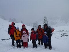 Familienwandertage im Schnee, Foto Markus Moosbrugger